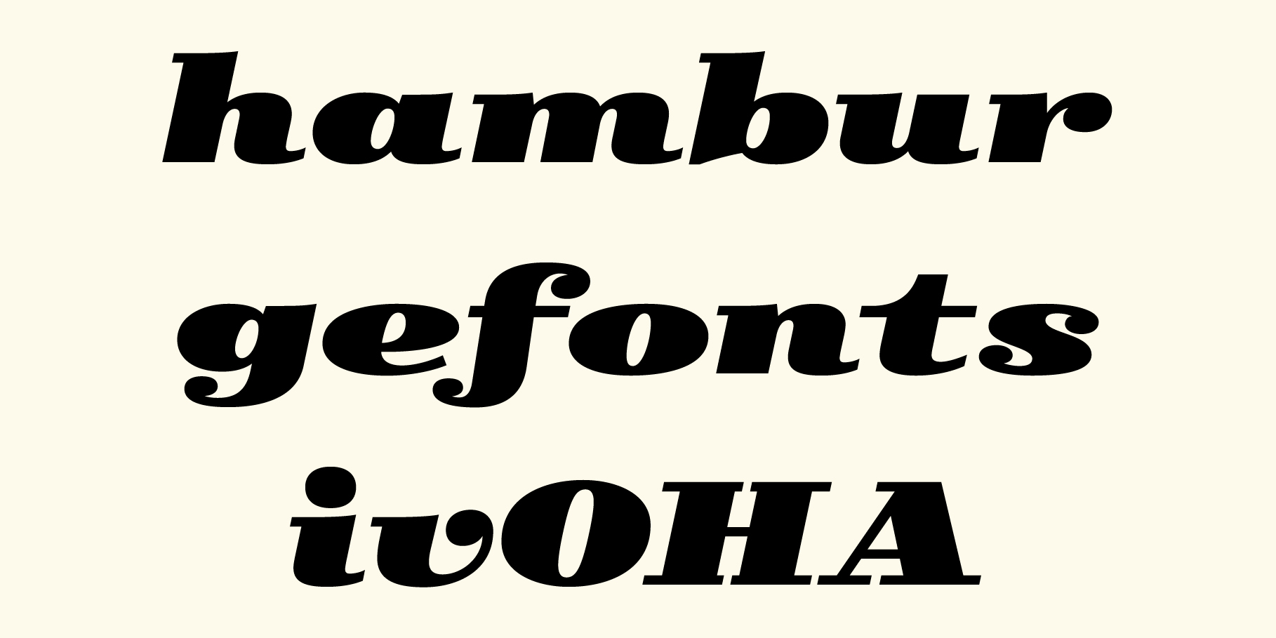 Type-Ø-Tones' typefaces at the Adobe Typekit Marketplace